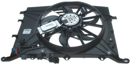 AUXILIARY FAN ASSEMBLY W/CONTROLLER