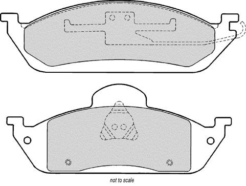 AXXIS/PBR DELUXE FRONT BRAKE PAD SET