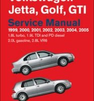 BENTLEY REPAIR MANUAL  JETTA, GOLF, GTI 1999-2005
