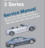 BENTLEY REPAIR MANUAL, BMW 3 SERIES 1999-2005