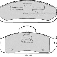 MINTEX FRONT BRAKE PAD SET