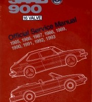 BENTLEY REPAIR MANUAL SAAB 900 16 VALVE, 1985-1993