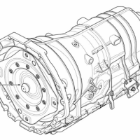 BMW 7 Series 02-12 TRANSMISSION PARTS