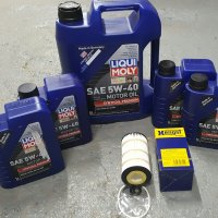 LIQUI-MOLY OIL CHANGE PACKAGE SPRINTER 2500