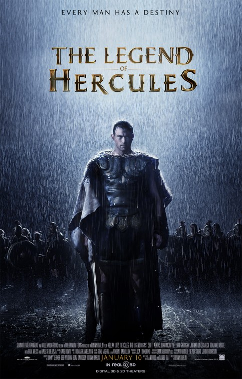 Hercules: The Legend Begins Movie Poster
