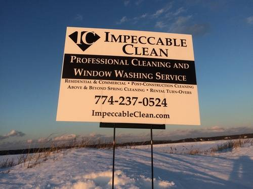impeccable-clean-road-sign