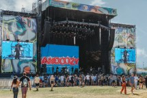 Grandoozy 2018 Black Pumas Rock Stage-86