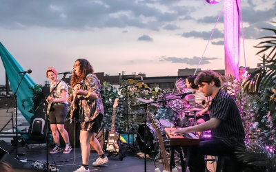 palehound @ elsewhere's rooftop