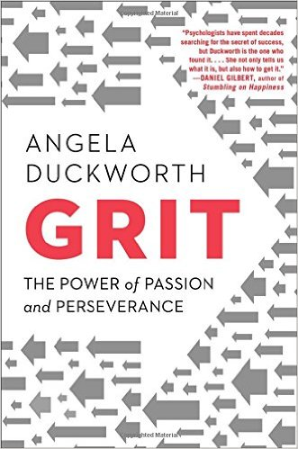 Book Cover: Grit: The Power of Passion and Perseverance by Angela Duckworth
