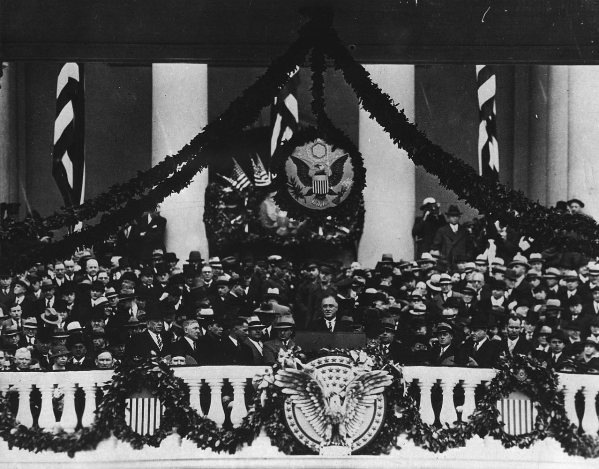 Six Lessons from Franklin D. Roosevelt's First Inaugural Address