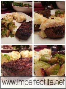 30 Minute Low Carb Steak Dinner