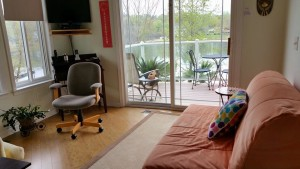 Sun Room with Futon $867.00 before 6/30. $1020.00 after 6/30