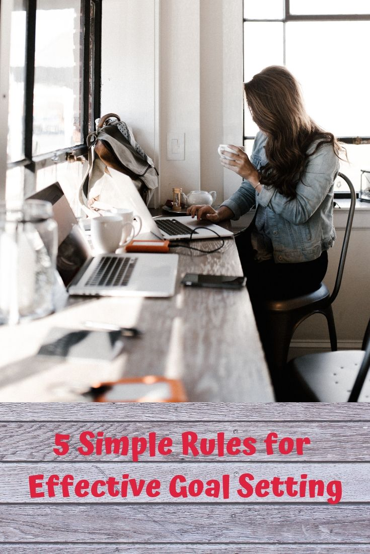 5 Simple Rules for Effective Goal Setting
