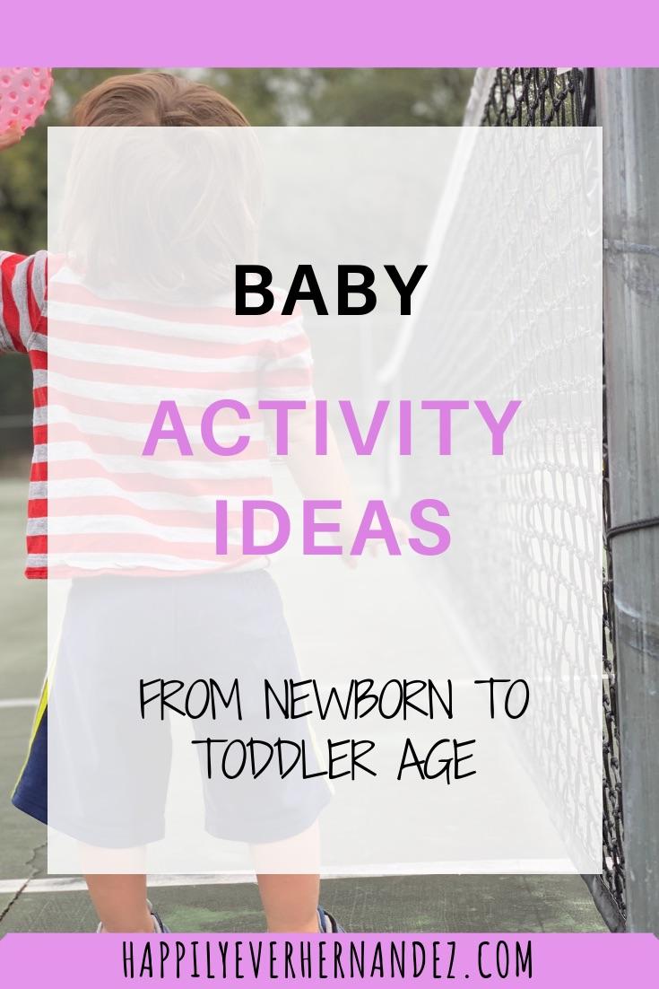 Baby Activity Ideas
