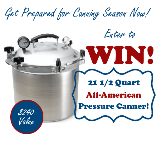 Get Prepared for Canning Season Giveaway