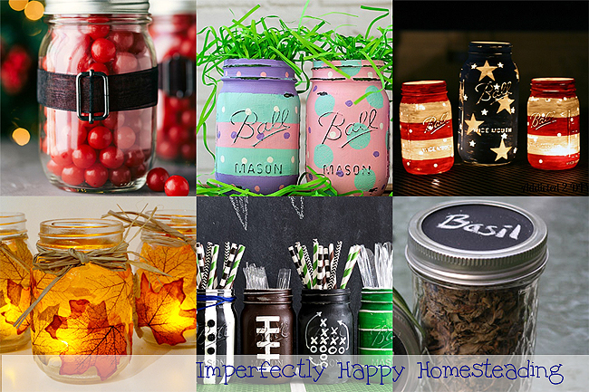 Simple Mason Jar Crafts Gifts For Every Season