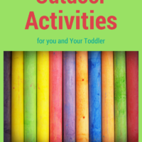 50 Outdoor Activities to do with your Toddler