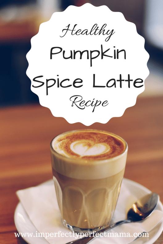 Healthy Pumpkin Spice Latte Recipe