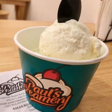 The Ice Cream serving :)