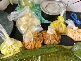 Parippu, Fish Curry, Sambhar, Pappadam, Kappa, Pulissery