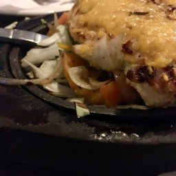 Sizzling Chicken & Cheese