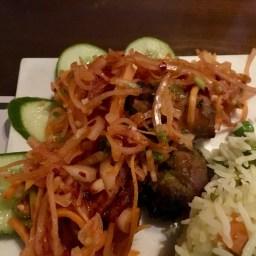 Chicken Tikka with Salad