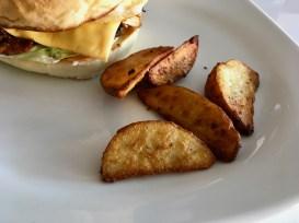 Potato Wedges with Bongo Chicken Burger