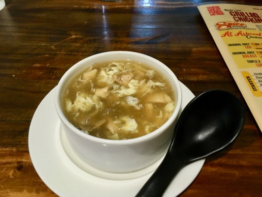 Mushroom Chicken Soup