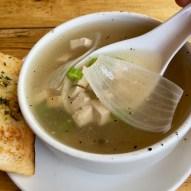 Celery & Chicken Clear Soup
