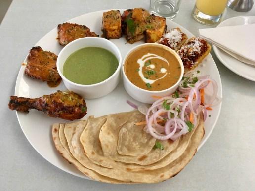 Kebab Thali