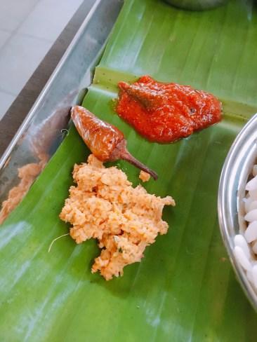 Chammanthy, Pickle, Mulaku Kondattam