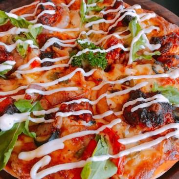 Peri Peri Chicken Pizza