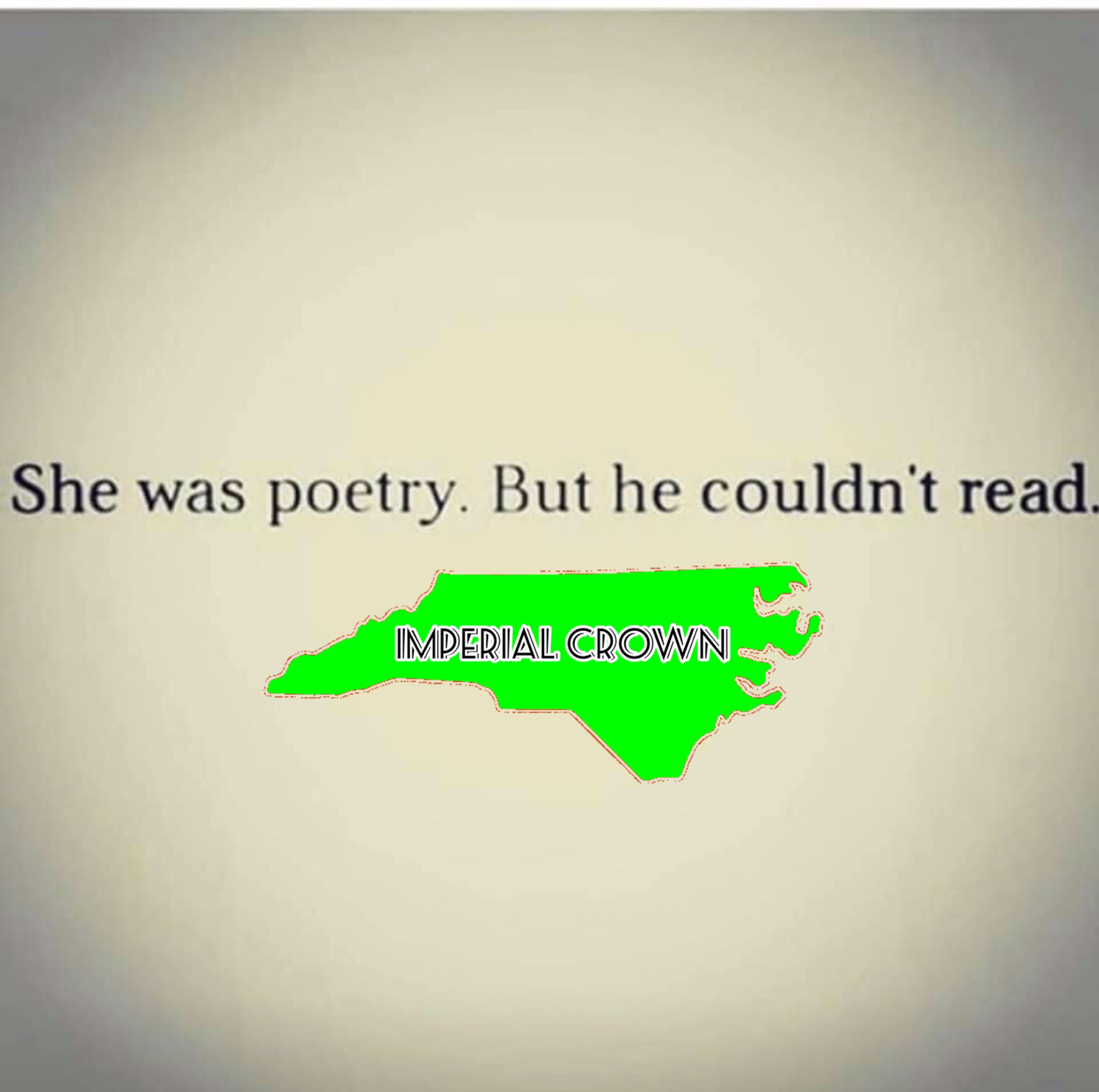 She was poetry…