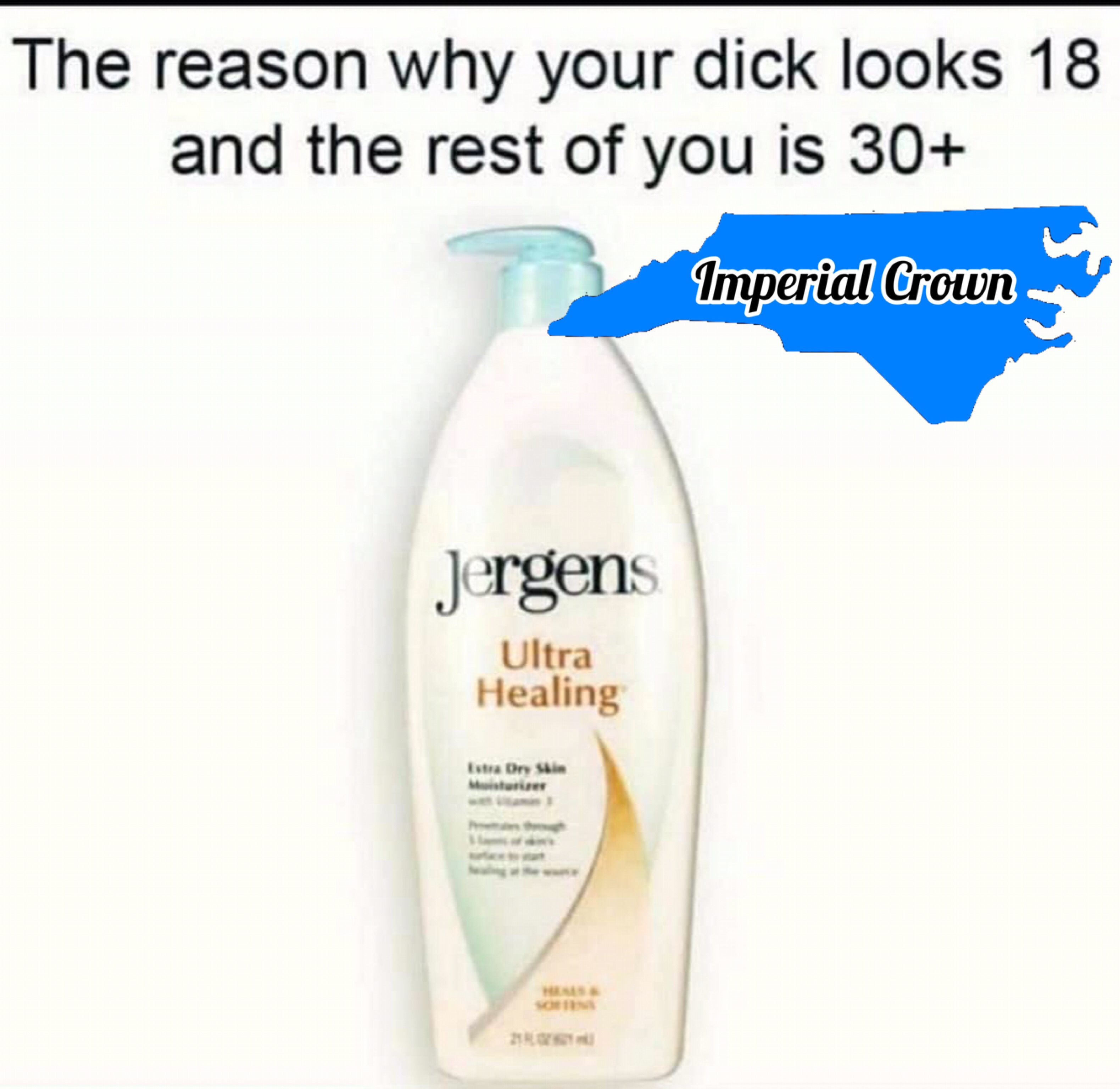 The reason why your dick looks 18 and the rest…..
