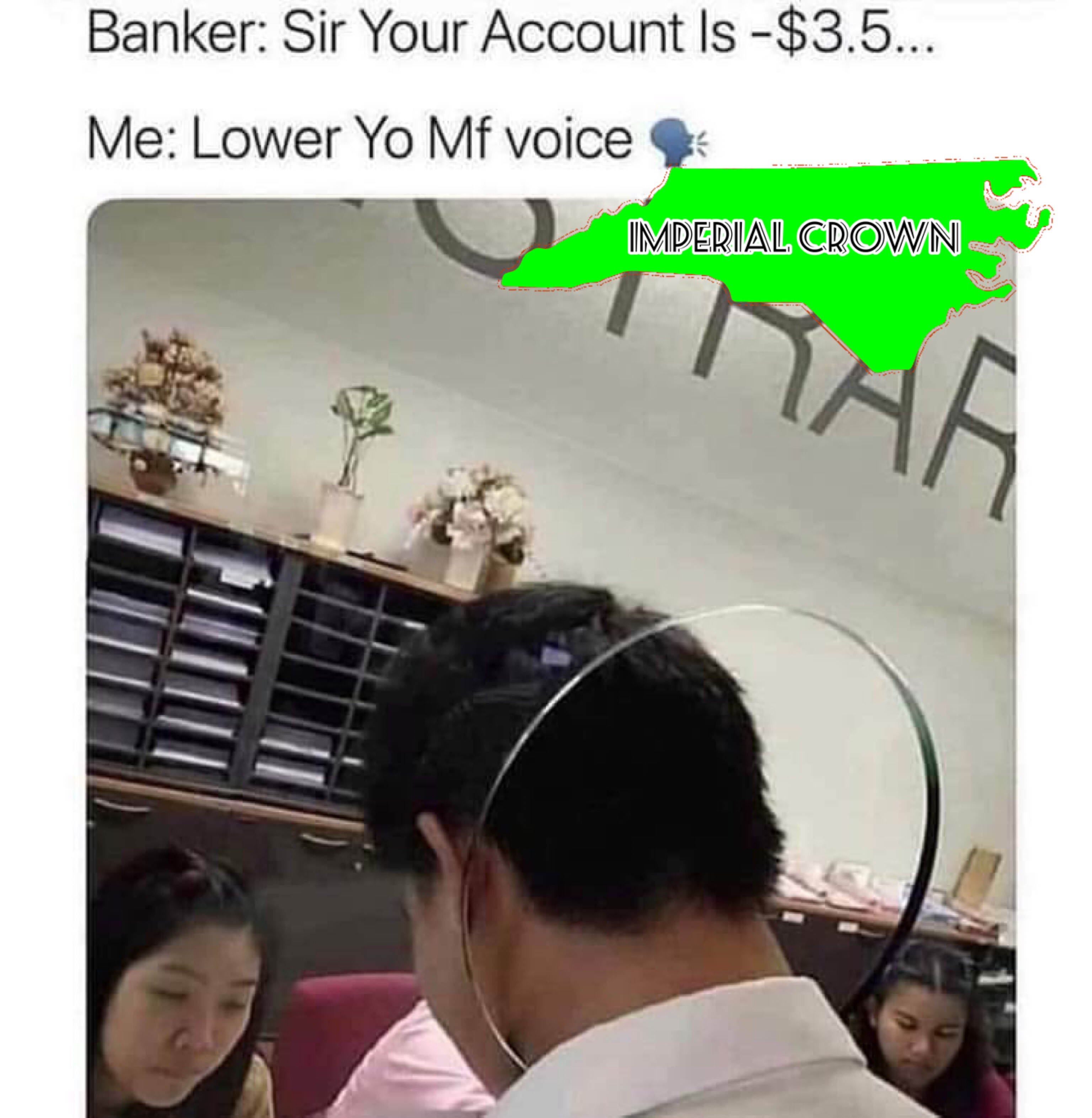 Sir your account is…..