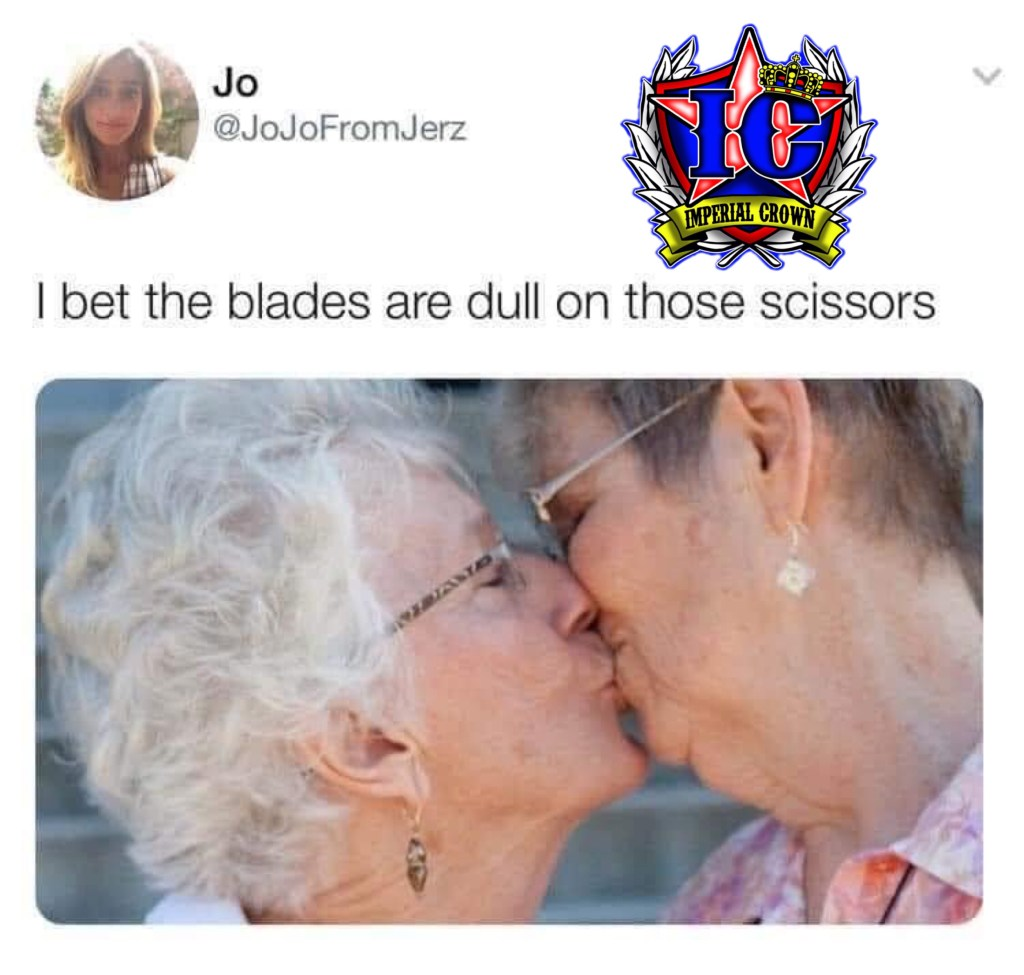 I bet the blades are dull on those scissors
