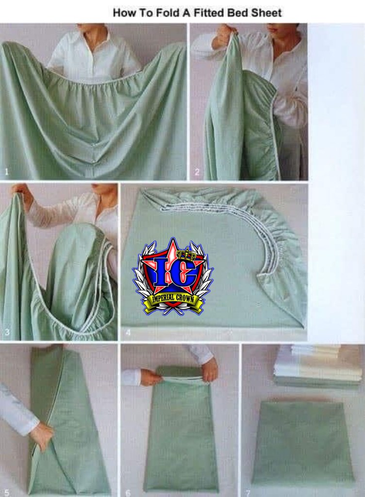 How to fold a fitted bed sheet