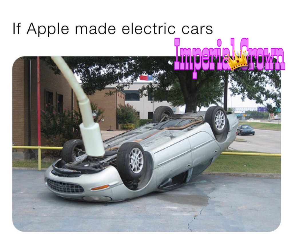 If Apple made electric cars