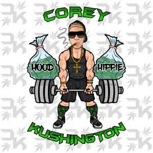 Corey Kushington - Hood Hippie Artwork