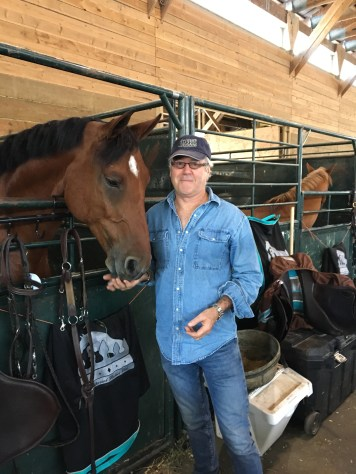 Mr.Gadban At ThunderBird Show Park, With The Gorgeous Horse Charlie.