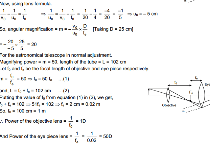 Optical Instruments HC Verma Concepts of Physics Solutions
