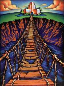 Warhammer Quest Travelling Hazard - Rope Bridge | Imperial Vault