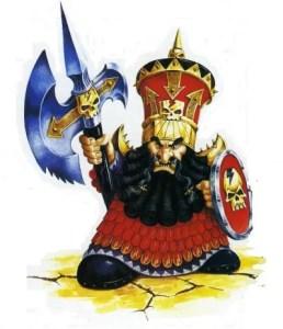 Warhammer Quest Chaos Dwarf