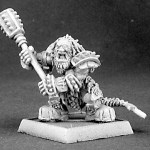 Dark Dwarf Captain by Reaper