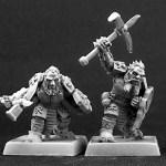 Dark Dwarf Warriors by Reaper