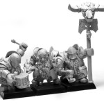 ForgeWorld Chaos Dwarf Infernal Guard Command - Chaos Dwarf Warriors & Hero Proxies