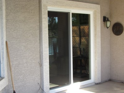sliding glass patio door installation