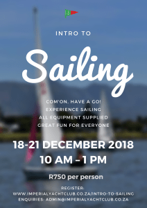 Intro to Sailing