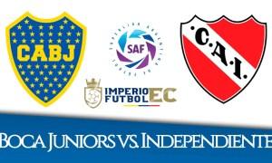 VER EN VIVO Boca Juniors vs. Independiente