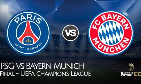 Final de Champions League VER PARTIDO EN VIVO PSG vs. Bayern Munich